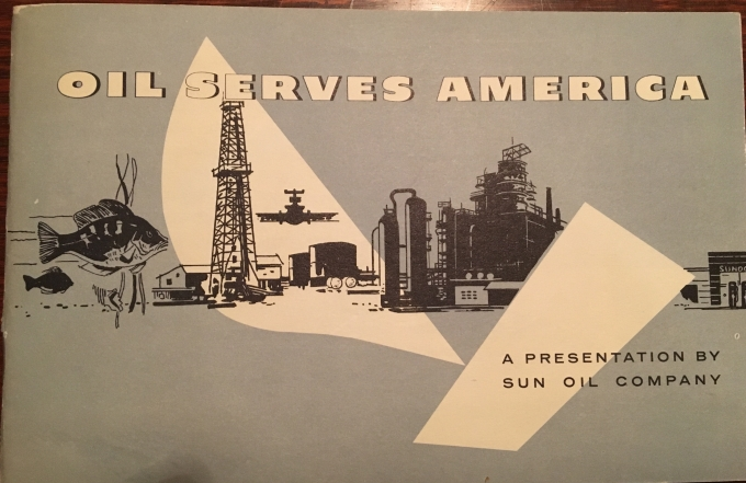 Oil Serves America Booklet Cover