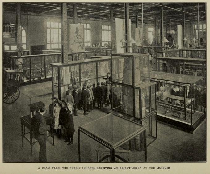 Object Lessons School Tours CommericalMuseum_1910